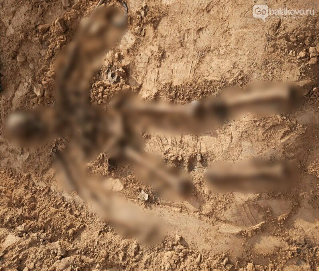Рабочие нашли человеческие кости при рытье котлована, фото-1