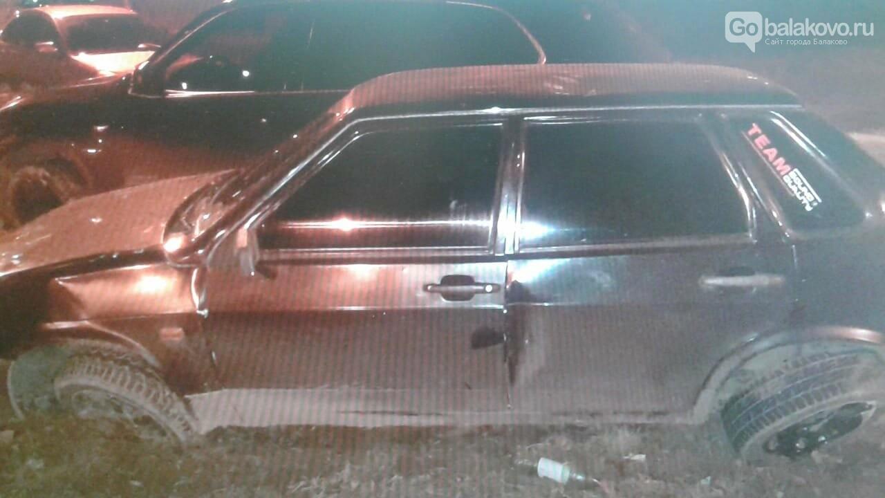 """В BMW врезалась """"девяносто девятая"""" на проспекте Героев, фото-1"""