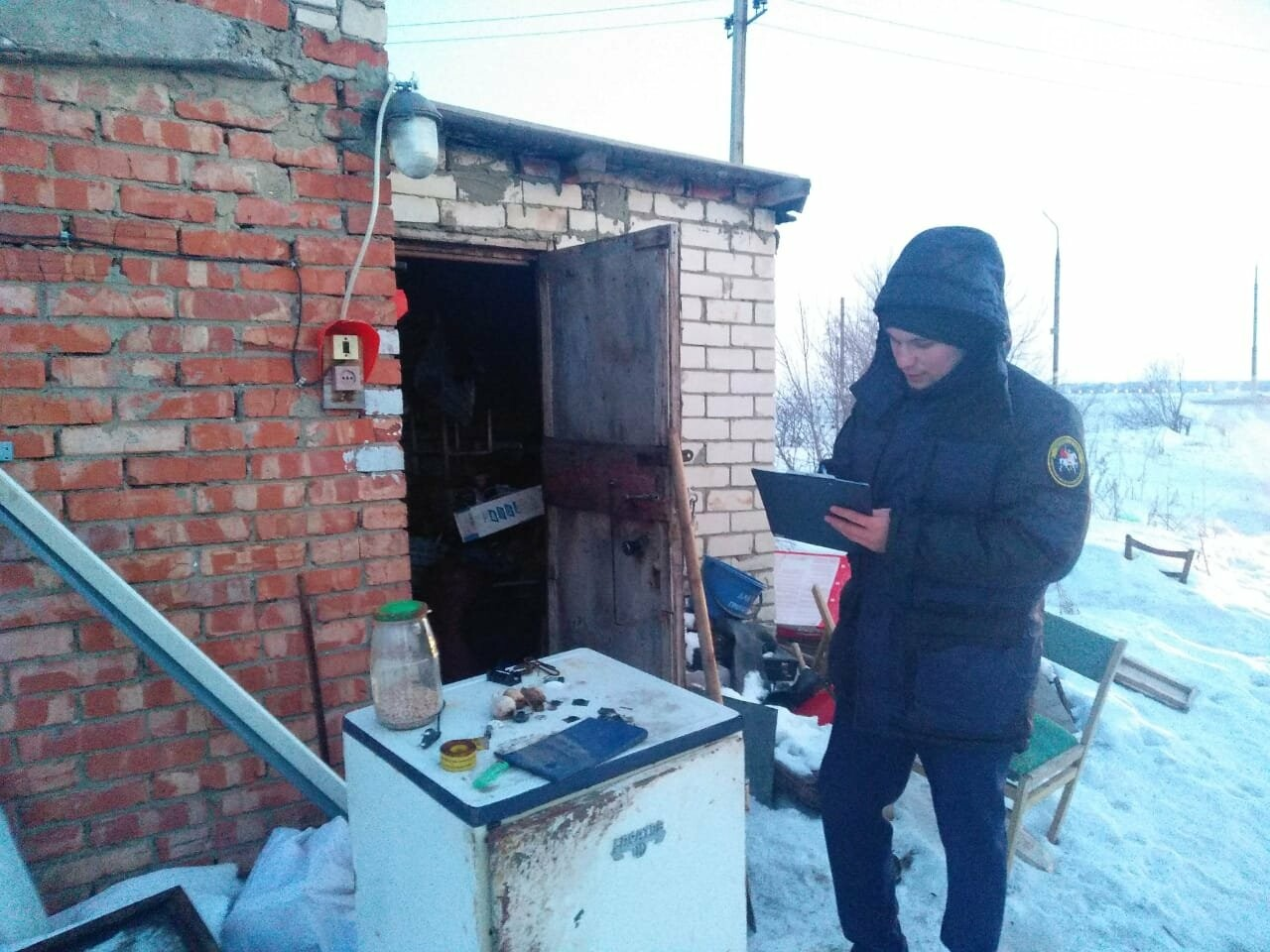 В сторожке на окраине Балаково найден труп мужчины, фото-1