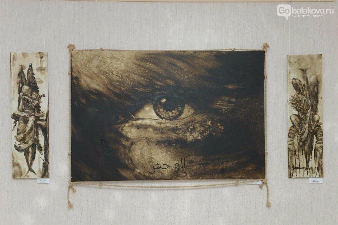 В Городском выставочном зале открылась уникальная коллективная выставка художников Балаковской АЭС «Атомный калейдоскоп», фото-7
