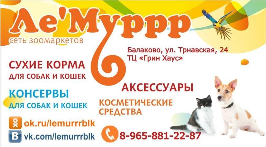 зоомагазин Лемуррр в Балаково